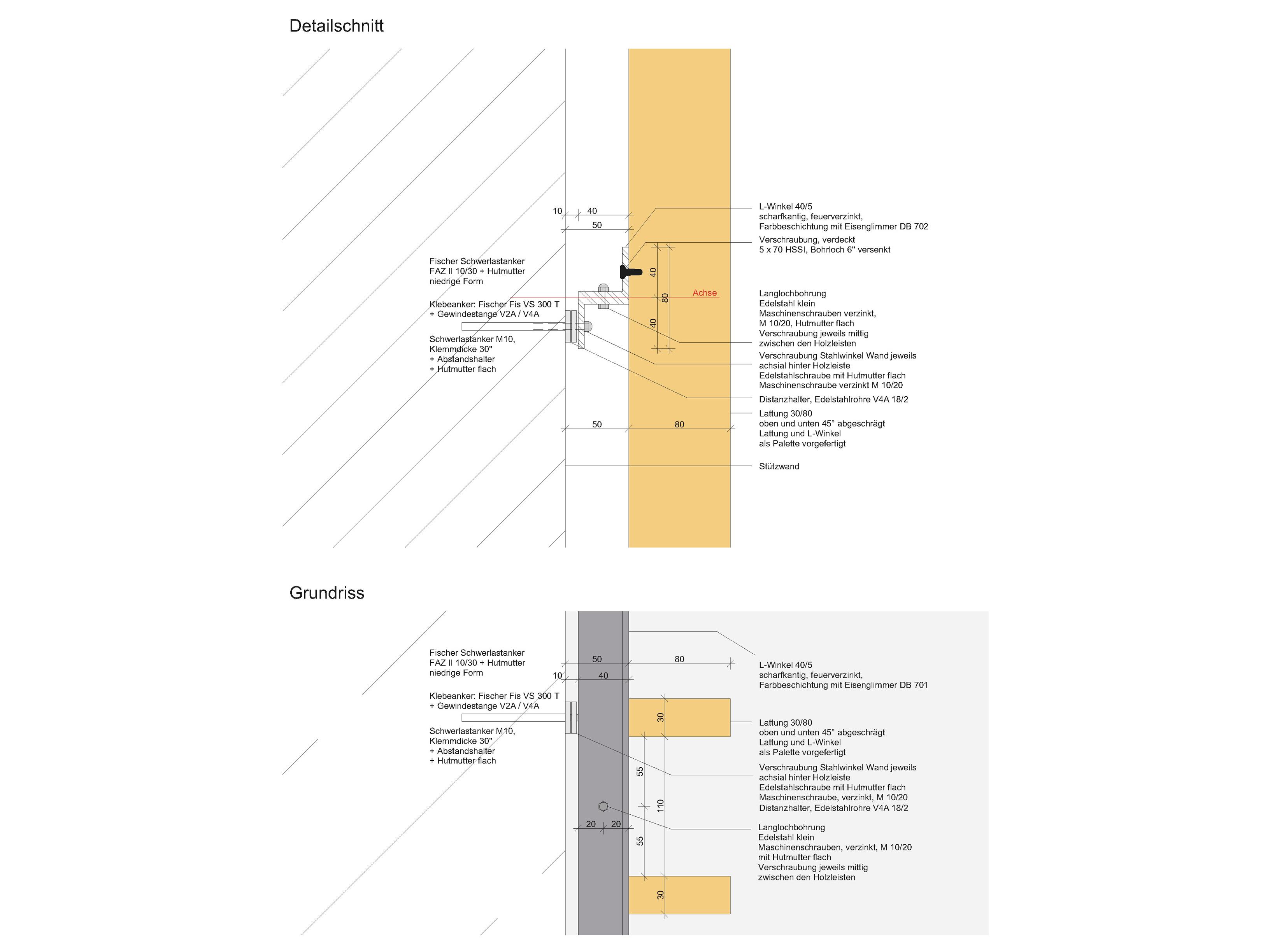 Wandverkleidung Sülmer Tor Heilbronn - Büro für Architektur ...